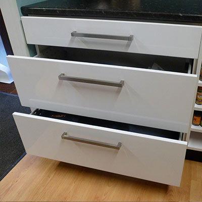 Deep Pan Drawers