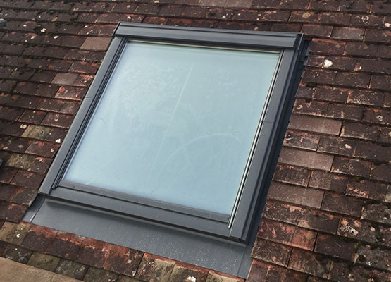 Roof lights installed in Crawley, West Sussex