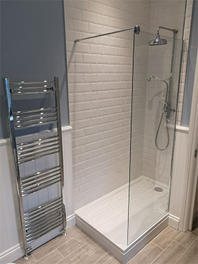 Bathroom fitted in Horsham West Sussex