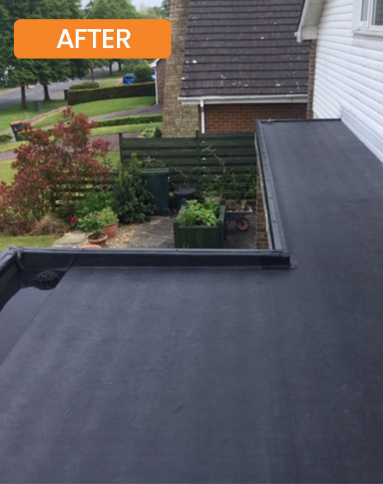 Flat Roof Installation by Facelift Home Improvements - After Photo