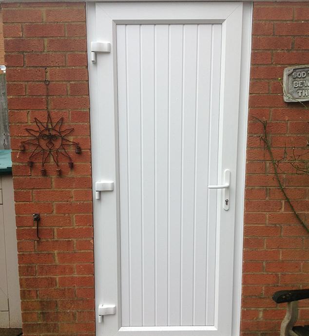 White uPVC Door in Crawley, West Sussex