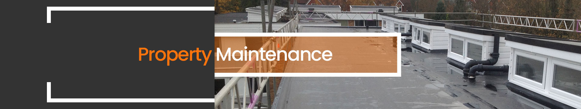 Property Maintenence Company Crawley, West Sussex Banner Image