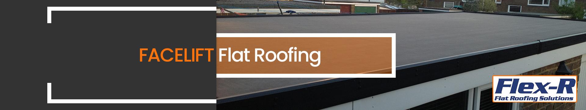 Facelift Flat Roof Banner