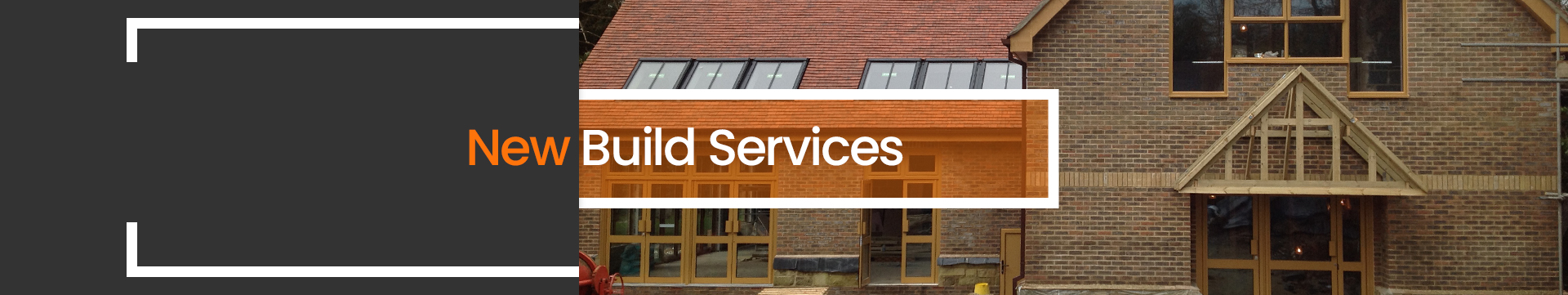 New build services banner image