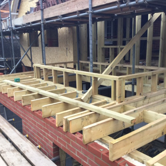New Build Construction Services Carried Out in West Sussex