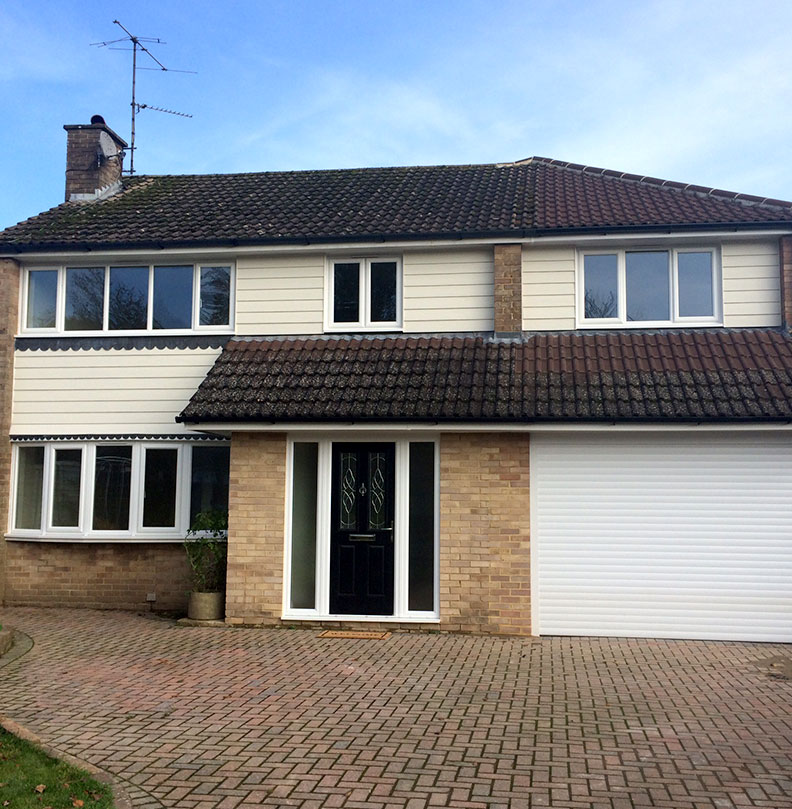 uPVC Casement windows installed in Crawley, West Sussex on detached house