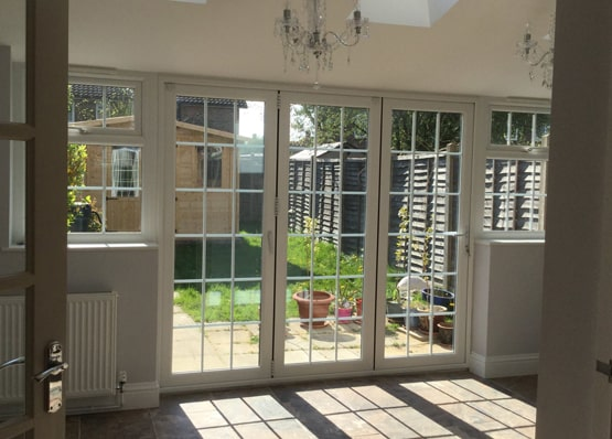 Aluminium bi-fold doors in Horsham, West Sussex