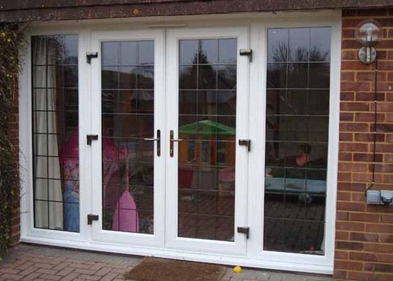 Aluminium French Doors in Crawley, West Sussex