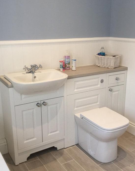 Bathroom installation in Horsham